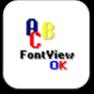 FontViewOK