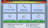 """Внешний вид """"SUPERAntiSpyware Free"""""""