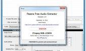 "Скриншот №1 ""Pazera Free Audio Extractor"""