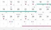 """Скриншот №2 """"Месячные, Женский Календарь Менструаций"""""""