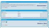 "Скриншот №1 ""phpBB3 Portal"""