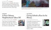 """Скриншот №2 """"NYTimes"""""""