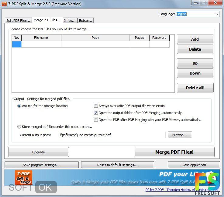 pdf splitter скачать