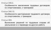 """Скриншот №2 """"Трудовой кодекс"""""""