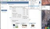 """Внешний вид """"Vkontakte Online"""""""