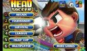 "Скриншот №1 ""Head Soccer"""