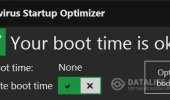 "Скриншот №1 ""Xvirus Startup Optimizer"""