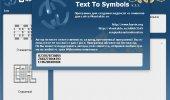 "Внешний вид ""Text To Symbols"""