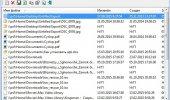 """Скриншот №1 """"Recent Files View"""""""