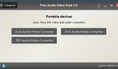 "Внешний вид ""Free Audio Video Pack"""