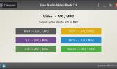 "Скриншот №2 ""Free Audio Video Pack"""