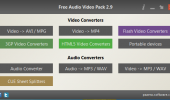 "Скриншот №1 ""Free Audio Video Pack"""