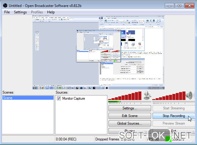 open broadcaster software (32 bit)