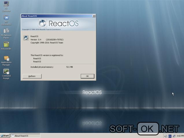 скачать ReactOS