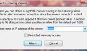 """Внешний вид """"TightVNC"""""""