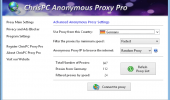 "Скриншот №1 ""ChrisPC Anonymous Proxy"""