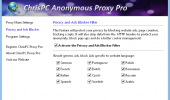 "Скриншот №2 ""ChrisPC Anonymous Proxy"""