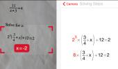 """Скриншот №1 """"PhotoMath"""""""