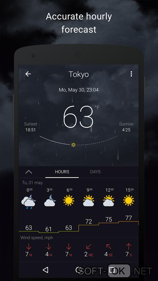 Приложение гисметео для windows 8 скачать
