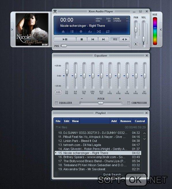 Компактный аудиоплеер для windows 7