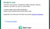 "Внешний вид ""Kaspersky Virus Removal Tool"""