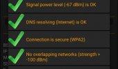 """Внешний вид """"WiFi Analyzer"""""""