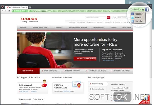 c546c38cf370 Comodo Dragon Internet Browser скачать бесплатно на русском для ...