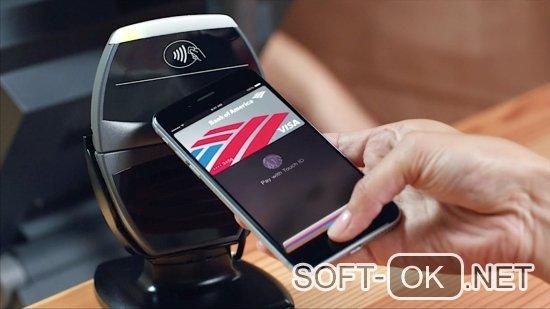 Процесс оплаты с помощью ApplePay