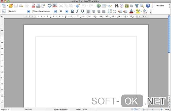 Как открыть .xml документ при помощи LibreOffice в Mac OS