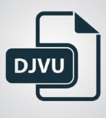 Иконка расширения файлов djvu