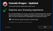 "Скриншот №1 ""Comodo Dragon Internet Browser"""