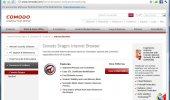 """Внешний вид """"Comodo Dragon Internet Browser"""""""