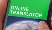 """Внешний вид """"PONS Online Translator"""""""