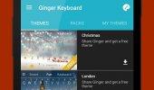 """Скриншот №2 """"Клавиатура Ginger"""""""