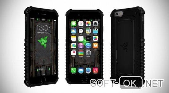Концепт-арт разрабатываемого смартфона от компании Razer