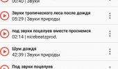 """Внешний вид """"Музыка из ВКонтакте"""""""