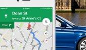 """Внешний вид """"Google Maps"""""""