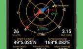 """Внешний вид """"GPS Status & Toolbox"""""""