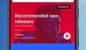 """Внешний вид """"Google Play Music"""""""