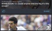 "Внешний вид ""365Scores: Sports Scores Live"""
