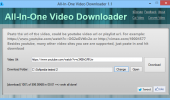 "Скриншот №1 ""All-In-One Video Downloader"""