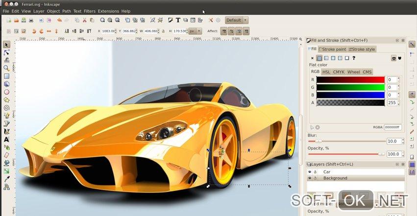 Inskape позволяет открывать ai формат на MacOS