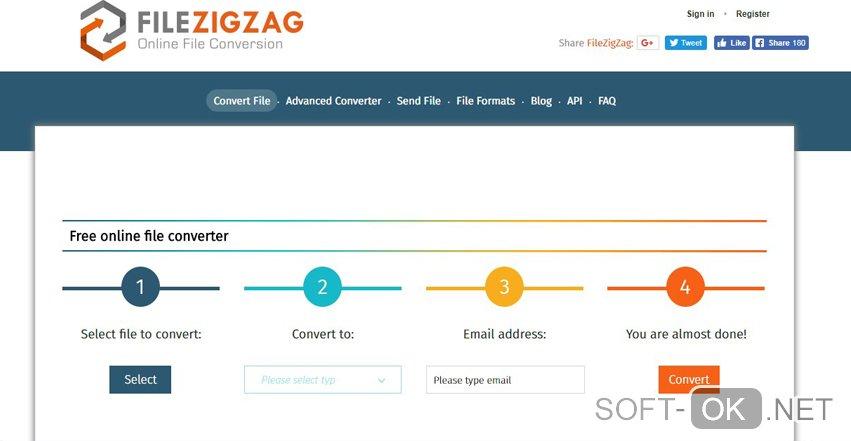 Работа с ai файлами через онлайн сервис Filezigzag
