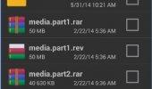 "Скриншот №1 ""RAR for Android"""