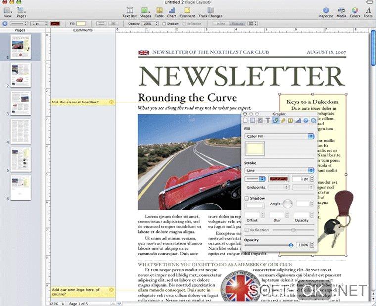 Открытие .doc файла при помощи Apple Pages