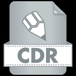 Иконка cdr формата