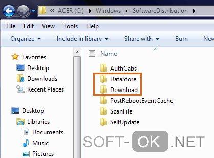 Восстановление работоспособности Windows и исправление ошибки 0x80070422