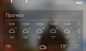 """Скриншот №2 """"Yahoo Weather"""""""