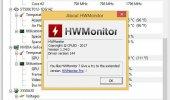 """Внешний вид """"HWMonitor"""""""