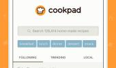 """Внешний вид """"Cookpad"""""""